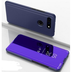Housse Etui Flip Folio Dot View Violet Pour Huawei Honor View 20