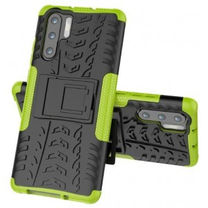 Protection Antichoc Type Otterbox Vert Pour Huawei P30 Pro