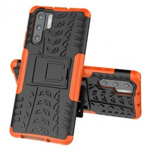 Protection Antichoc Type Otterbox Orange Pour Huawei P30 Pro