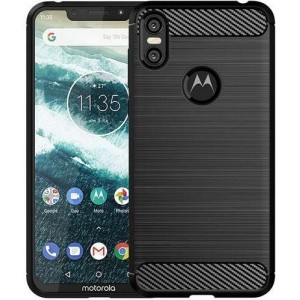 Coque De Protection En Carbone Pour Motorola One