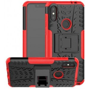 Protection Antichoc Type Otterbox Rouge Pour Huawei P30 Lite