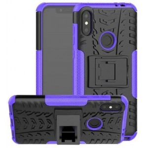 Protection Antichoc Type Otterbox Violet Pour Huawei P30 Lite