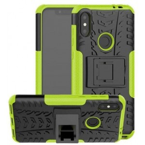 Protection Antichoc Type Otterbox Vert Pour Huawei P30 Lite