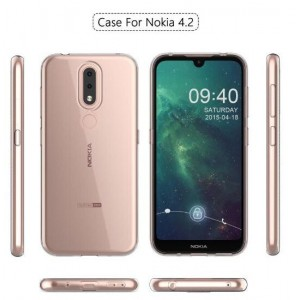 Coque De Protection En Silicone Transparent Pour Nokia 4.2