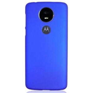 Coque De Protection Rigide Bleu Pour Motorola Moto G7 Power
