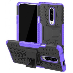 Protection Antichoc Type Otterbox Violet Pour OnePlus 7