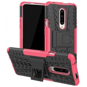 Protection Antichoc Type Otterbox Rose Pour OnePlus 7 Pro