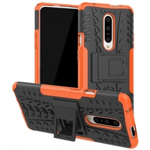 Protection Antichoc Type Otterbox Orange Pour OnePlus 7 Pro