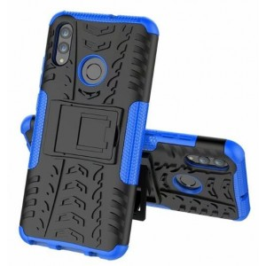 Protection Antichoc Type Otterbox Bleu Pour Huawei Honor 20i