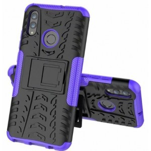 Protection Antichoc Type Otterbox Violet Pour Huawei Honor 20i