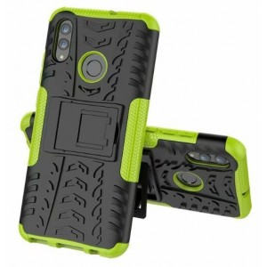Protection Antichoc Type Otterbox Vert Pour Huawei Honor 20i