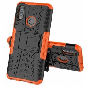 Protection Antichoc Type Otterbox Orange Pour Huawei Honor 20i