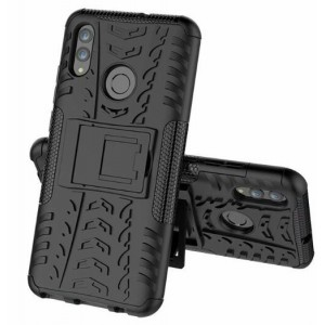 Protection Solide Type Otterbox Noir Pour Huawei Honor 20 Lite