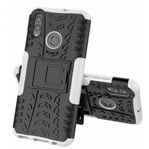 Protection Antichoc Type Otterbox Blanc Pour Huawei Honor 20 Lite