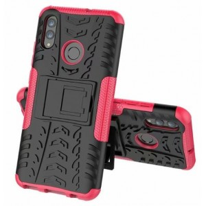 Protection Antichoc Type Otterbox Rose Pour Huawei Honor 20 Lite