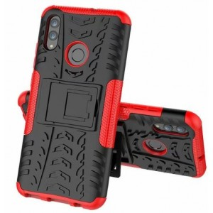Protection Antichoc Type Otterbox Rouge Pour Huawei Honor 20 Lite