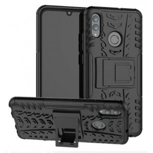 Protection Solide Type Otterbox Noir Pour Huawei P Smart 2019