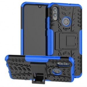 Protection Antichoc Type Otterbox Bleu Pour Huawei P Smart 2019
