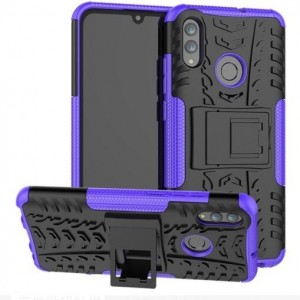 Protection Antichoc Type Otterbox Violet Pour Huawei P Smart 2019