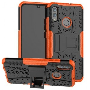 Protection Antichoc Type Otterbox Orange Pour Huawei P Smart 2019