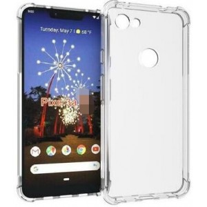 Coque De Protection En Silicone Transparent Pour Google Pixel 3a