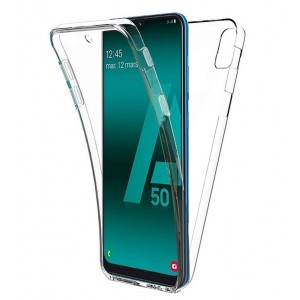 Coque De Protection En Silicone Transparent Pour Samsung Galaxy A20e
