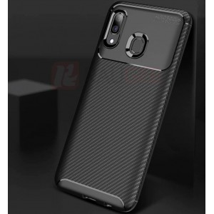 Coque De Protection En Carbone Pour Samsung Galaxy A20e
