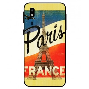 Coque De Protection Paris Vintage Pour Samsung Galaxy A2 Core