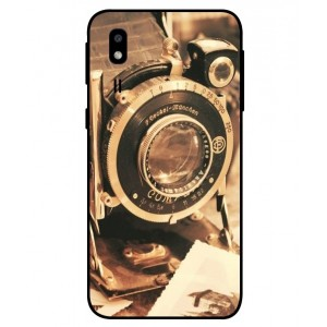 Coque De Protection Appareil Photo Vintage Pour Samsung Galaxy A2 Core