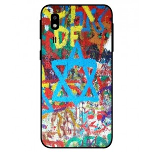 Coque De Protection Graffiti Tel-Aviv Pour Samsung Galaxy A2 Core