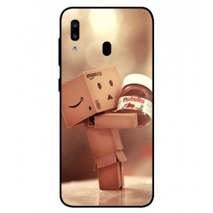 Coque De Protection Amazon Nutella Pour Samsung Galaxy A20