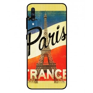 Coque De Protection Paris Vintage Pour Samsung Galaxy A70