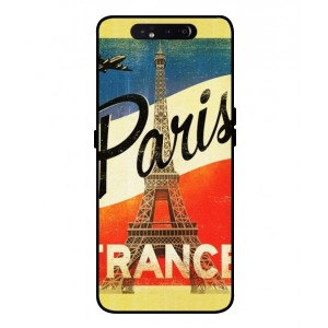 Coque De Protection Paris Vintage Pour Samsung Galaxy A80