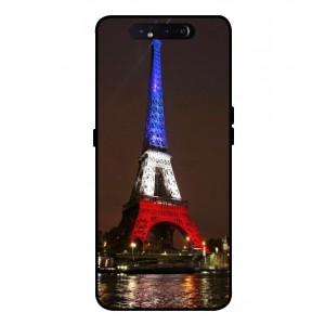 Coque De Protection Tour Eiffel Couleurs France Pour Samsung Galaxy A80