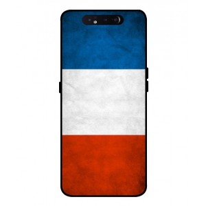 Coque De Protection Drapeau De La France Pour Samsung Galaxy A80