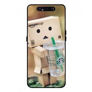 Coque De Protection Amazon Starbucks Pour Samsung Galaxy A80