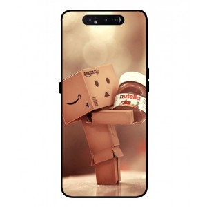 Coque De Protection Amazon Nutella Pour Samsung Galaxy A80