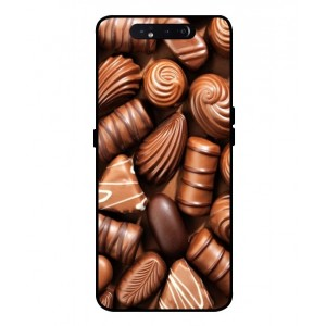 Coque De Protection Chocolat Pour Samsung Galaxy A80