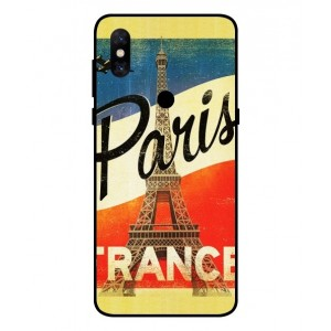 Coque De Protection Paris Vintage Pour Xiaomi Mi Mix 3 5G