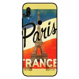 Coque De Protection Paris Vintage Pour Xiaomi Redmi 7