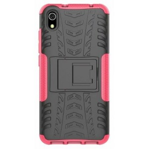 Protection Antichoc Type Otterbox Rose Pour Xiaomi Redmi 7A