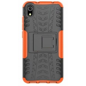 Protection Antichoc Type Otterbox Orange Pour Xiaomi Redmi 7A