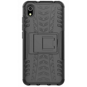 Protection Solide Type Otterbox Noir Pour Huawei Honor 8S