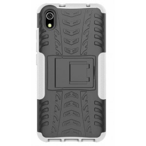 Protection Antichoc Type Otterbox Blanc Pour Huawei Honor 8S