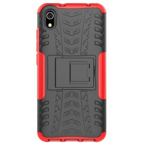 Protection Antichoc Type Otterbox Rouge Pour Huawei Honor 8S
