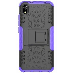 Protection Antichoc Type Otterbox Violet Pour Huawei Honor 8S