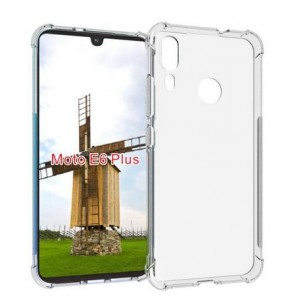 Coque De Protection En Silicone Transparent Pour Motorola Moto E6 Plus