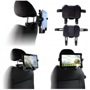 Support Siège Voiture Appui Tête Pour Samsung Galaxy Tab A 8.0 2019