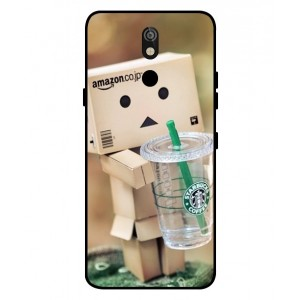 Coque De Protection Amazon Starbucks Pour LG K40