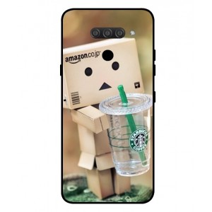 Coque De Protection Amazon Starbucks Pour LG K50S